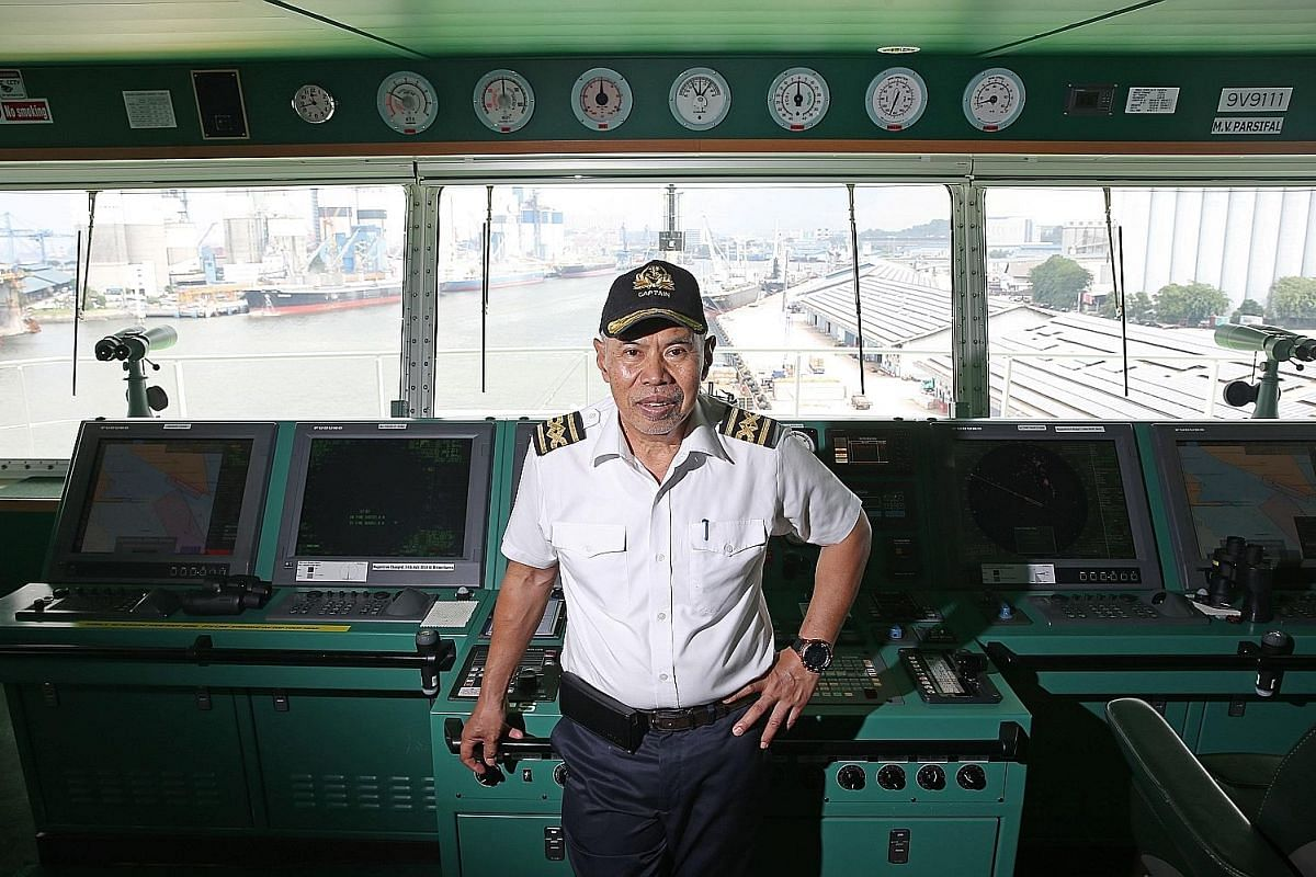 """Captain Nordin Rais has had many memorable voyages during his more than 40 years at sea and regards storms and close shaves with pirates and terrorists as """"adventures""""."""