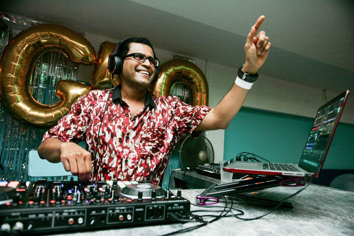 Father-of-two Shasi N. Gangadharan picked up DJing to surprise friends at his 50th birthday party.
