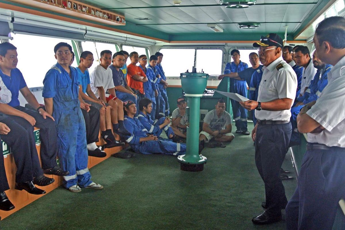 Never tired of sea: Singaporean captain shares tales of