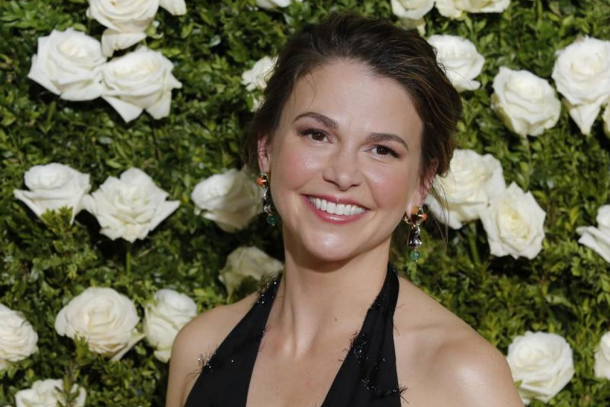 Actress and singer Sutton Foster.
