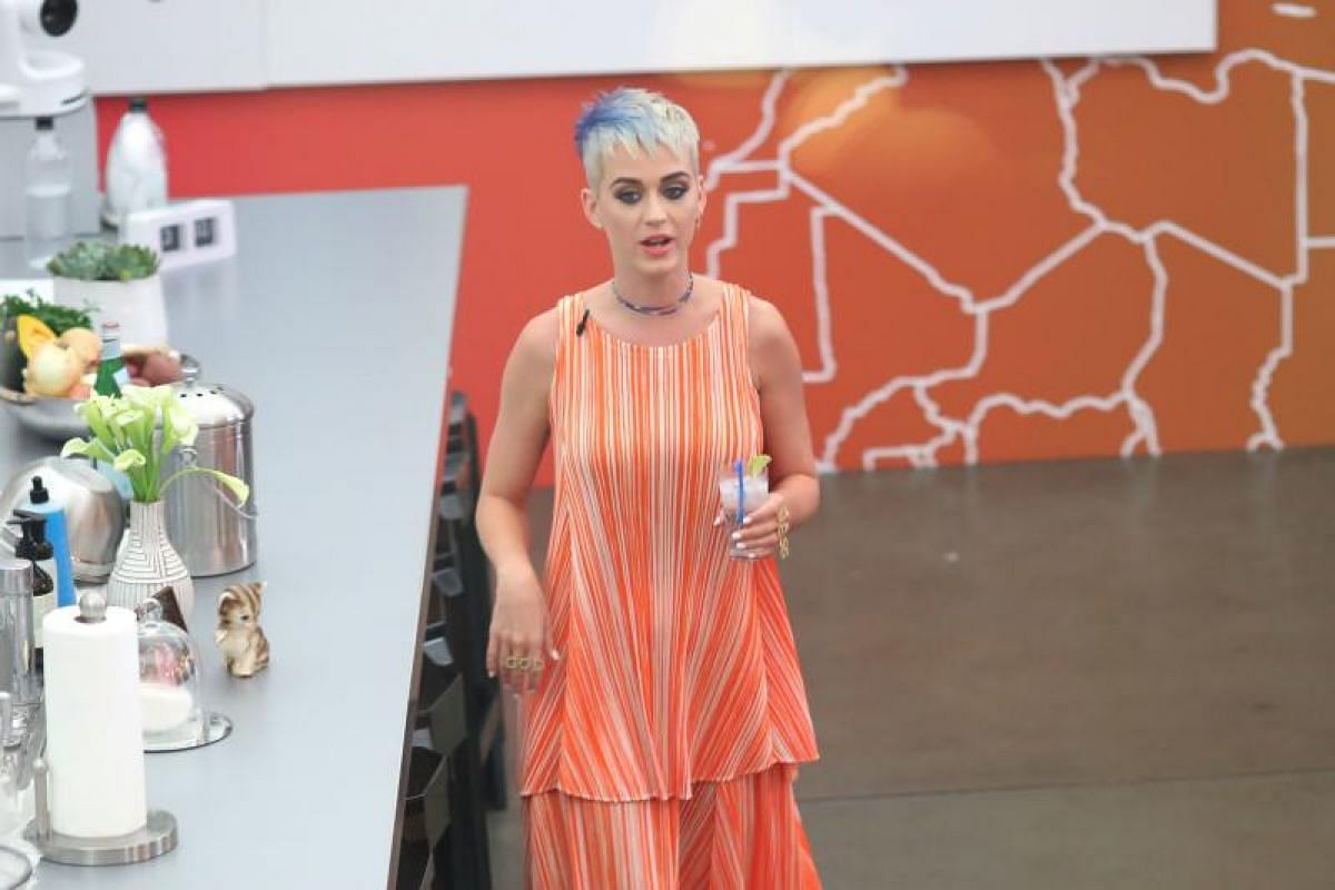 The 96-hour live stream showed singer Katy Perry in her everyday life.