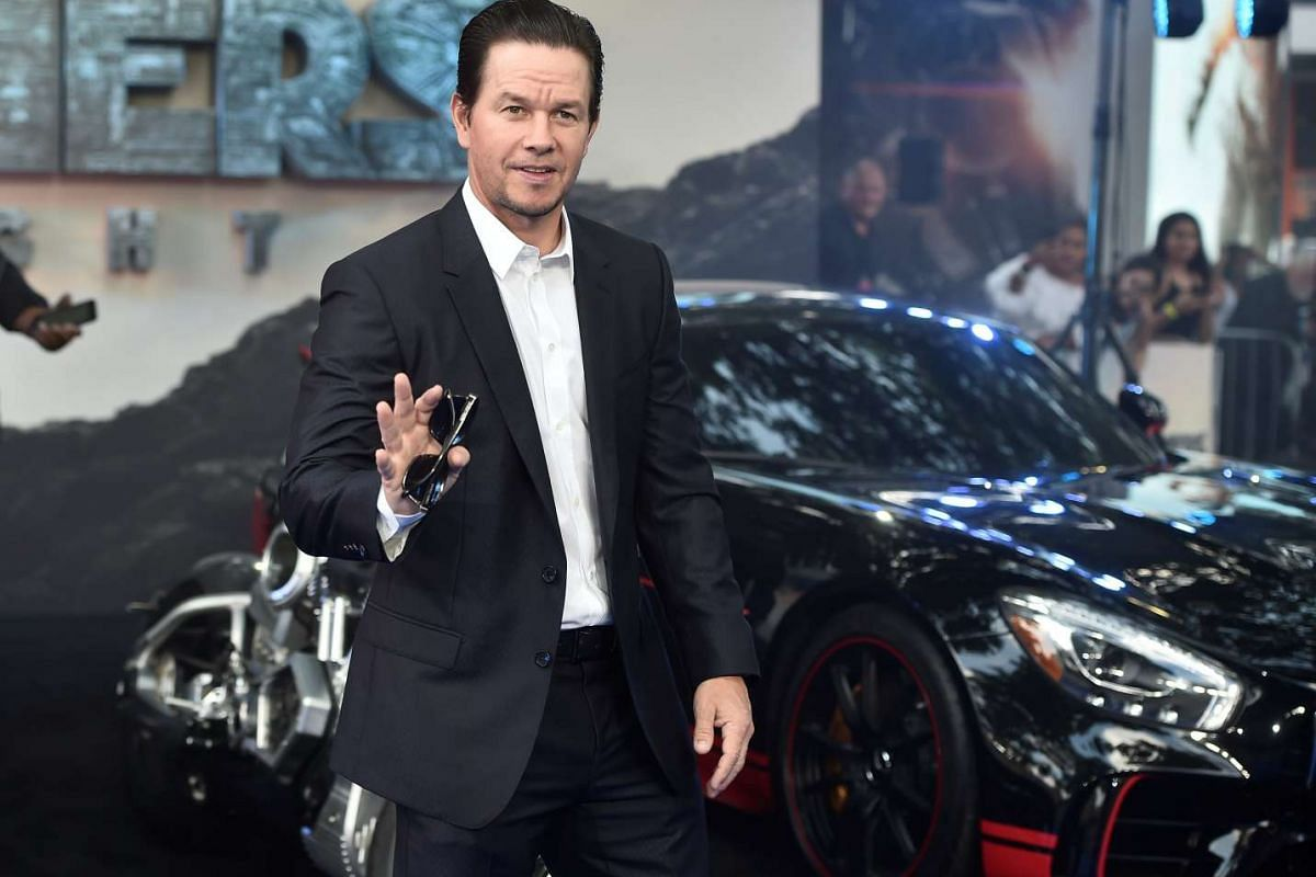 Mark Wahlberg arrives for the world premiere of Transformers: The Last Knight, at a cinema in central London, Britain, June 18, 2017.