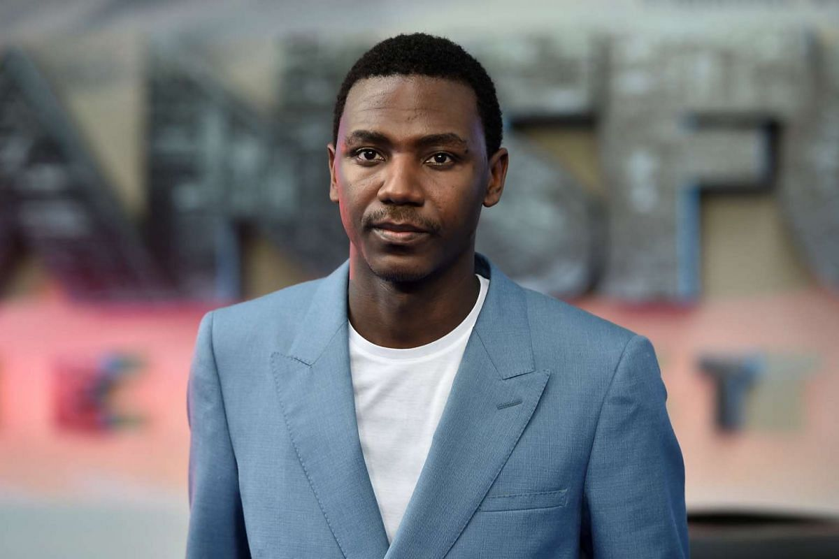 Jerrod Carmichael arrives for the world premiere of Transformers: The Last Knight, at a cinema in central London, Britain, June 18, 2017.