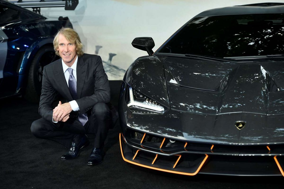 Director Michael Bay arrives for the world premiere of Transformers: The Last Knight, at a cinema in central London, Britain, June 18, 2017.