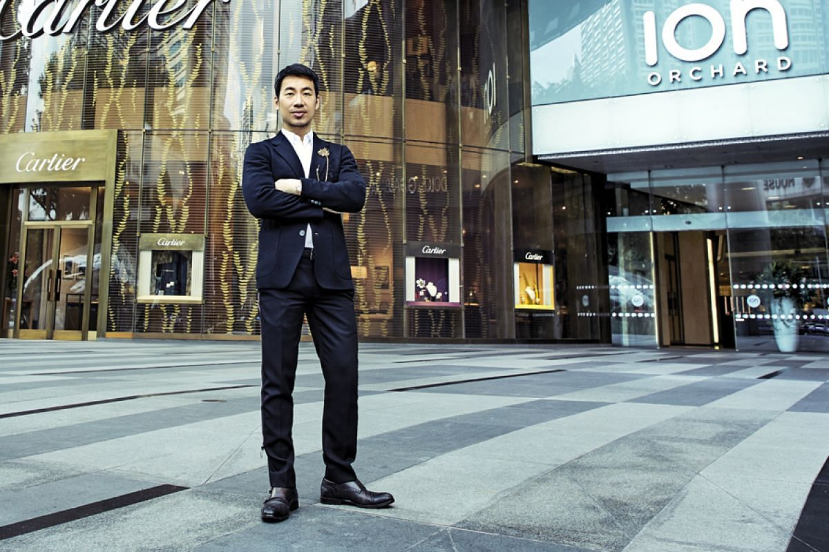 Mr Chris Chong speaks with different managers daily to keep abreast of mall happenings.