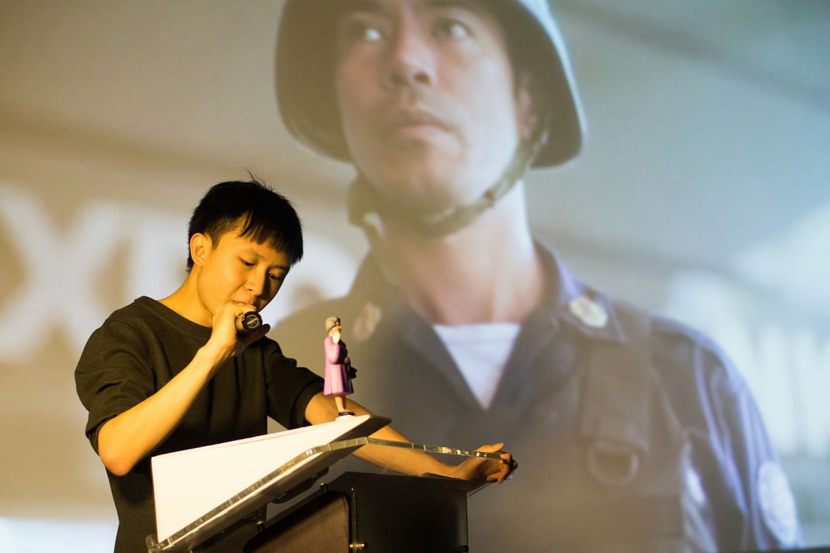 Singapore artist Ho Rui An (above) is the curator of For Lack Of A Better Word, a series of workshops and lectureperformances; and Singaporean artist Zou Zhao will give a talk on the importance of listening.