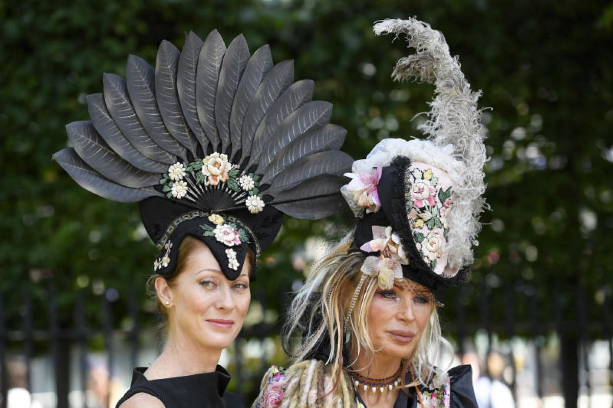 The Royal Ascot, the most famous horse racing festival in the world, kicked off on Tuesday (June 20) and, with it, out came the hats, which are de rigueur at the event. For the first time in its history, organisers did not enforce the dress code, let