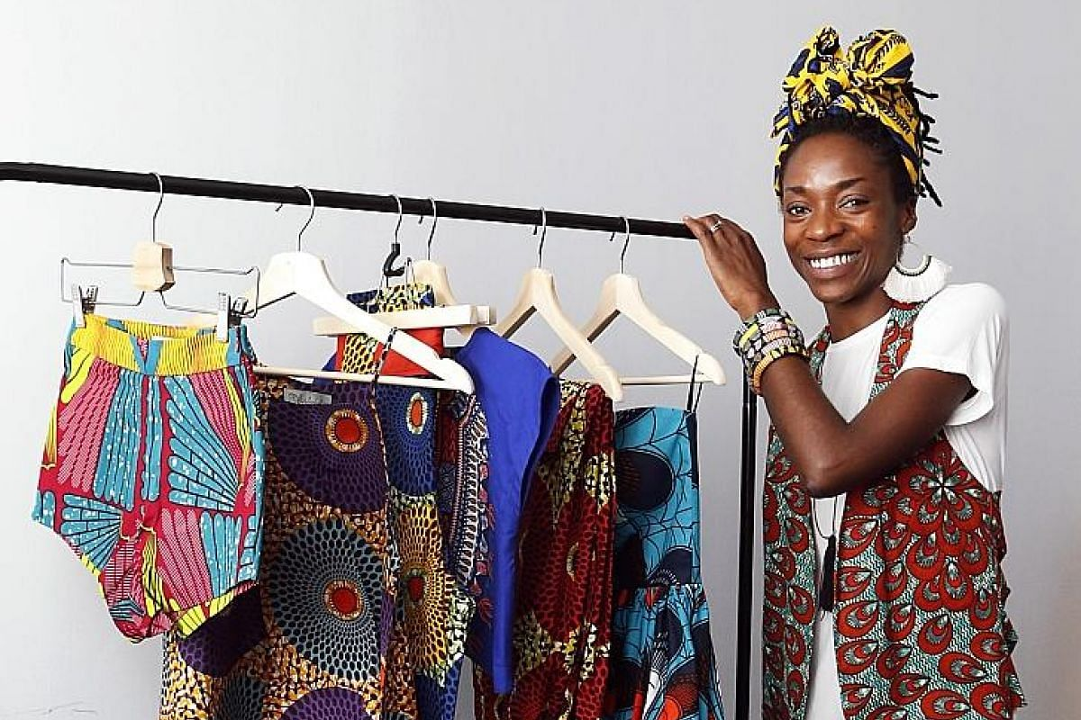 (Far left) Ms Ify Ubby, founder of OliveAnkara, says wearing the headwrap reminds her of her West African culture and roots. (Left) Ms Santhi Tunas, co-founder of scarf label Binary Style, says more women are inquiring about how to use her scarves as