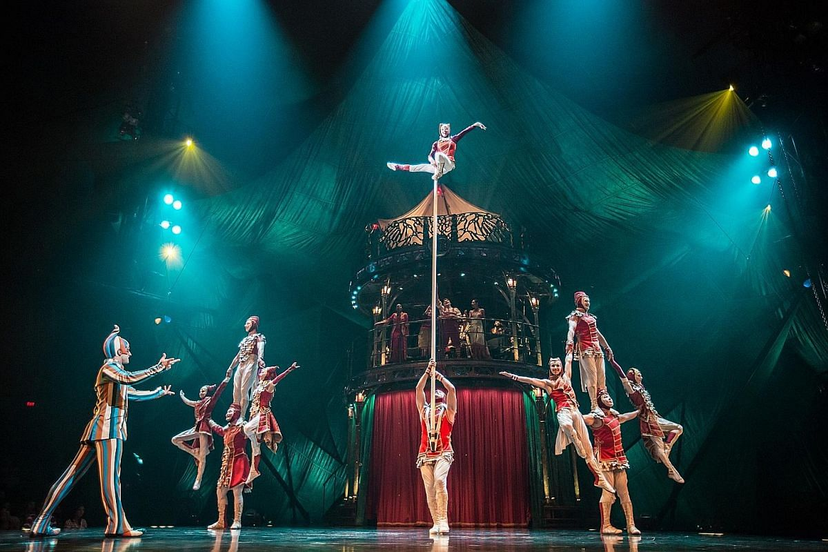 Good, old-fashioned acrobatics are the highlight of Kooza, the latest Cirque du Soleil show to come to Singapore.