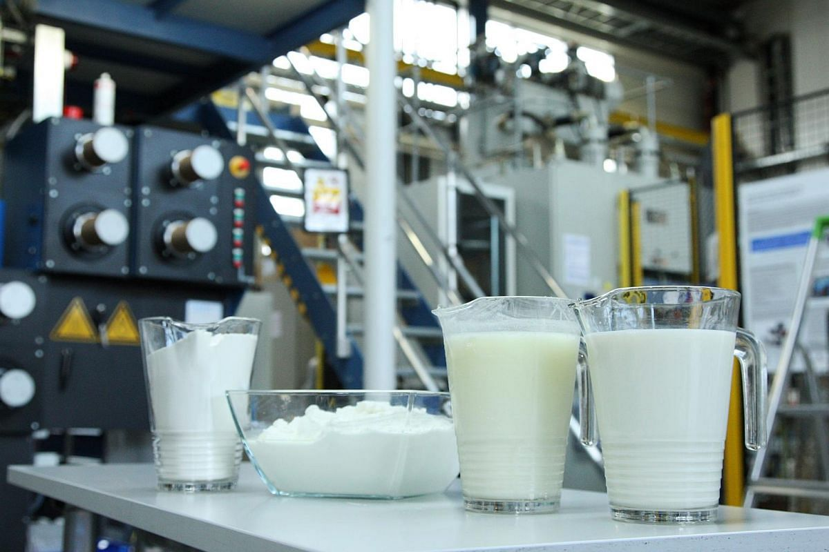A look at the Qmilk laboratory.