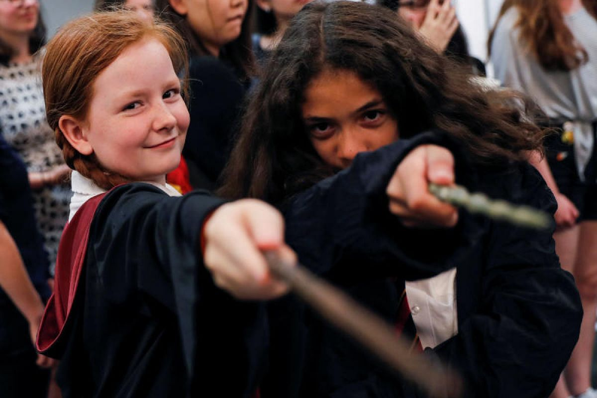 Harry Potter has certainly not lost his magic touch, with fans aplenty turning up for an anniversary presentation at Waterstones bookshop in London on Monday (June 26).