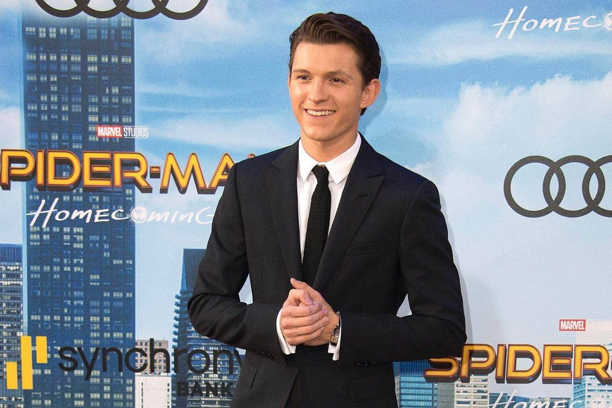 Actor Tom Holland attends the world premiere of Spider-Man at the TCL Chinese Theater in Hollywood, California on June 28, 2017.