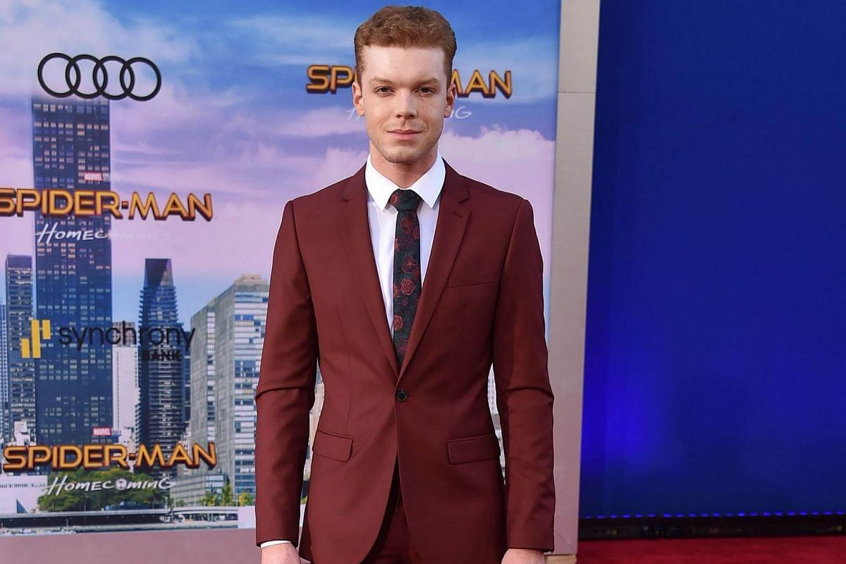 Cameron Monaghan attends the world premiere of Spider-Man at the TCL Chinese Theater in Hollywood, California on June 28, 2017.