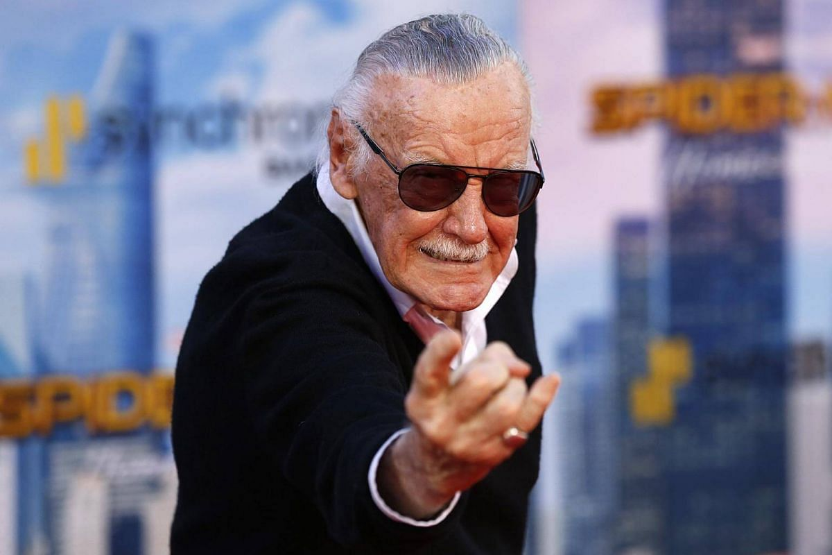 Spider-Man co-creator Stan Lee attends world premiere of Spider-Man at the TCL Chinese Theater in Hollywood, California on June 28, 2017.