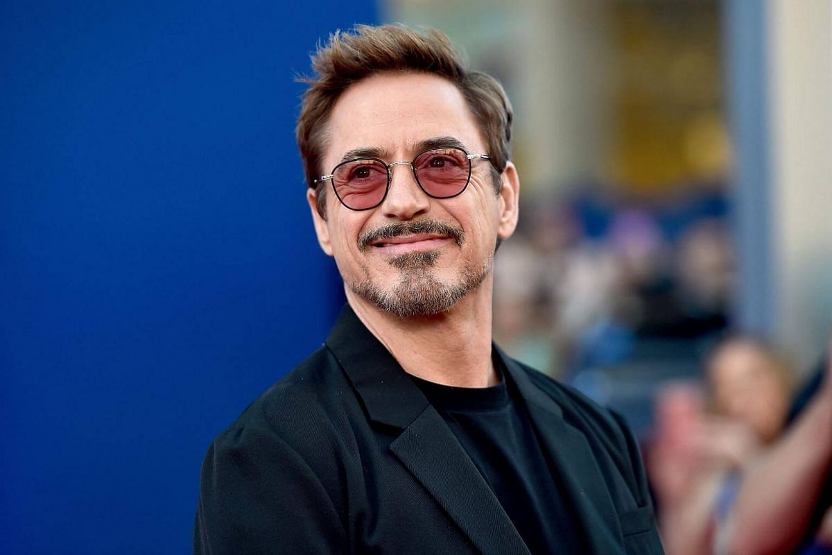 Robert Downey Jr attends the world premiere of Spider-Man at the TCL Chinese Theater in Hollywood, California on June 28, 2017.