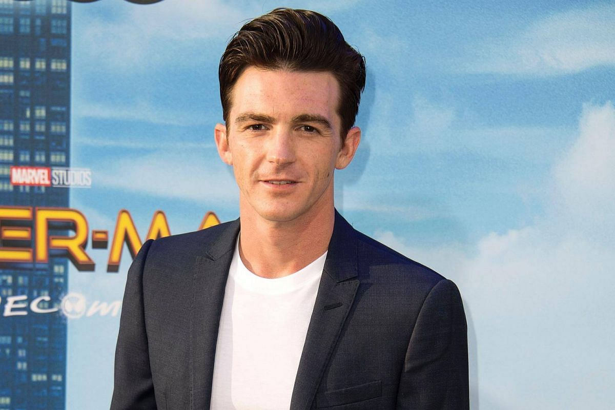Actor Drake Bell attends the world premiere of Spider-Man at the TCL Chinese Theater in Hollywood, California on June 28, 2017.