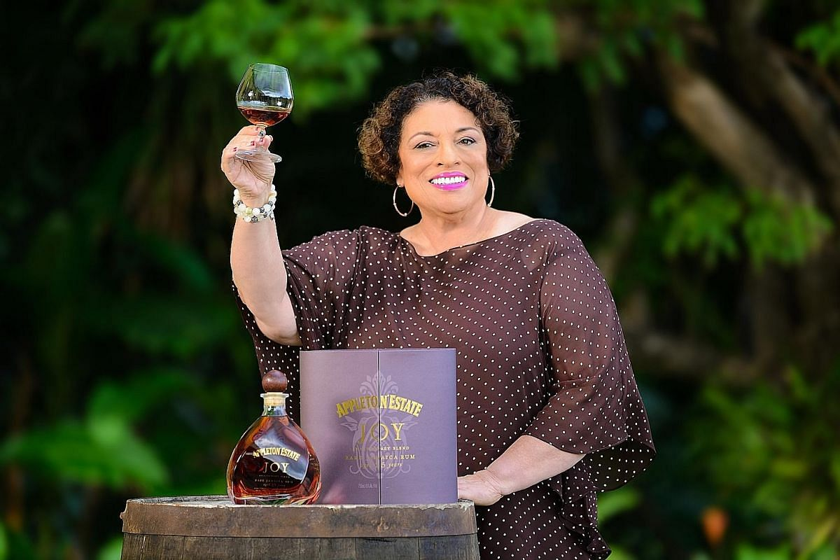 Ms Joy Spence of Jamaica's Appleton Estate was in town to launch the Joy Anniversary Blend, which marks her 20-year tenure as master blender.