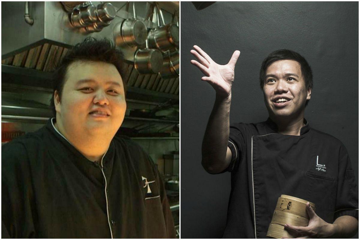 Corner House's Jason Tan (left) and Labyrinth's Han Liguang.