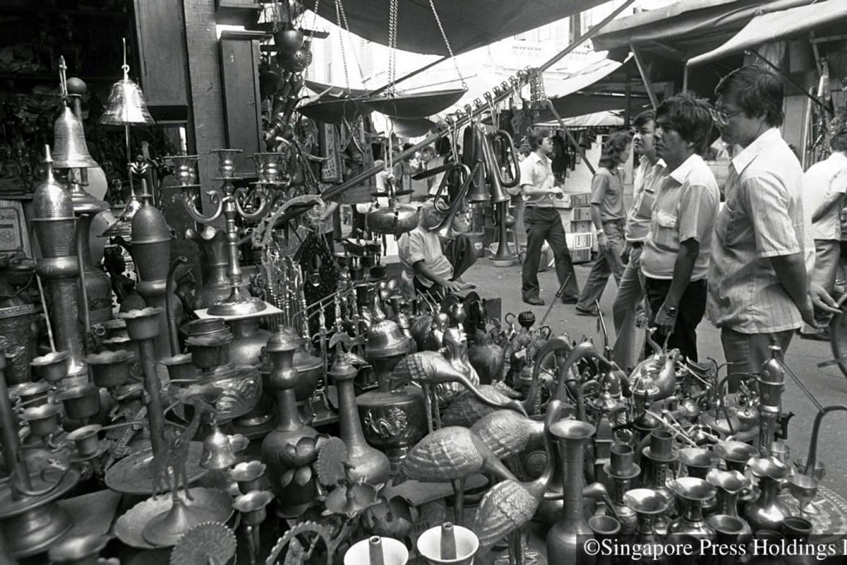 1982: When half of the 161 hawkers at Sungei Road were told to clear out by the final weekend of July 1982, items ended up going for a song.