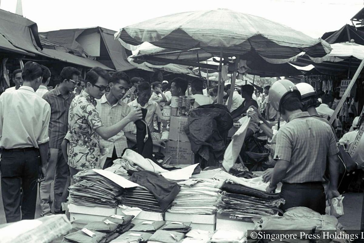 1971:  Shopping at this poor-man's bazaar is like embarking on a treasure hunt.