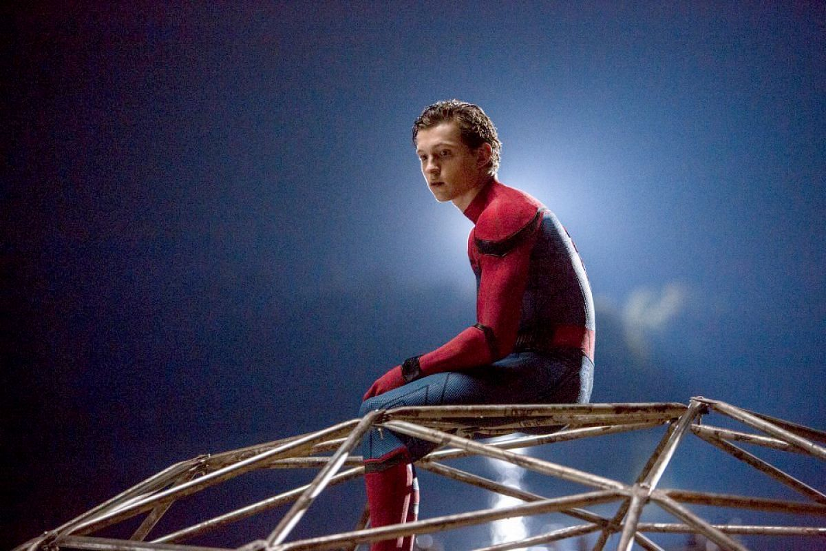 Tom Holland stars as the titular hero in Spider-Man: Homecoming.