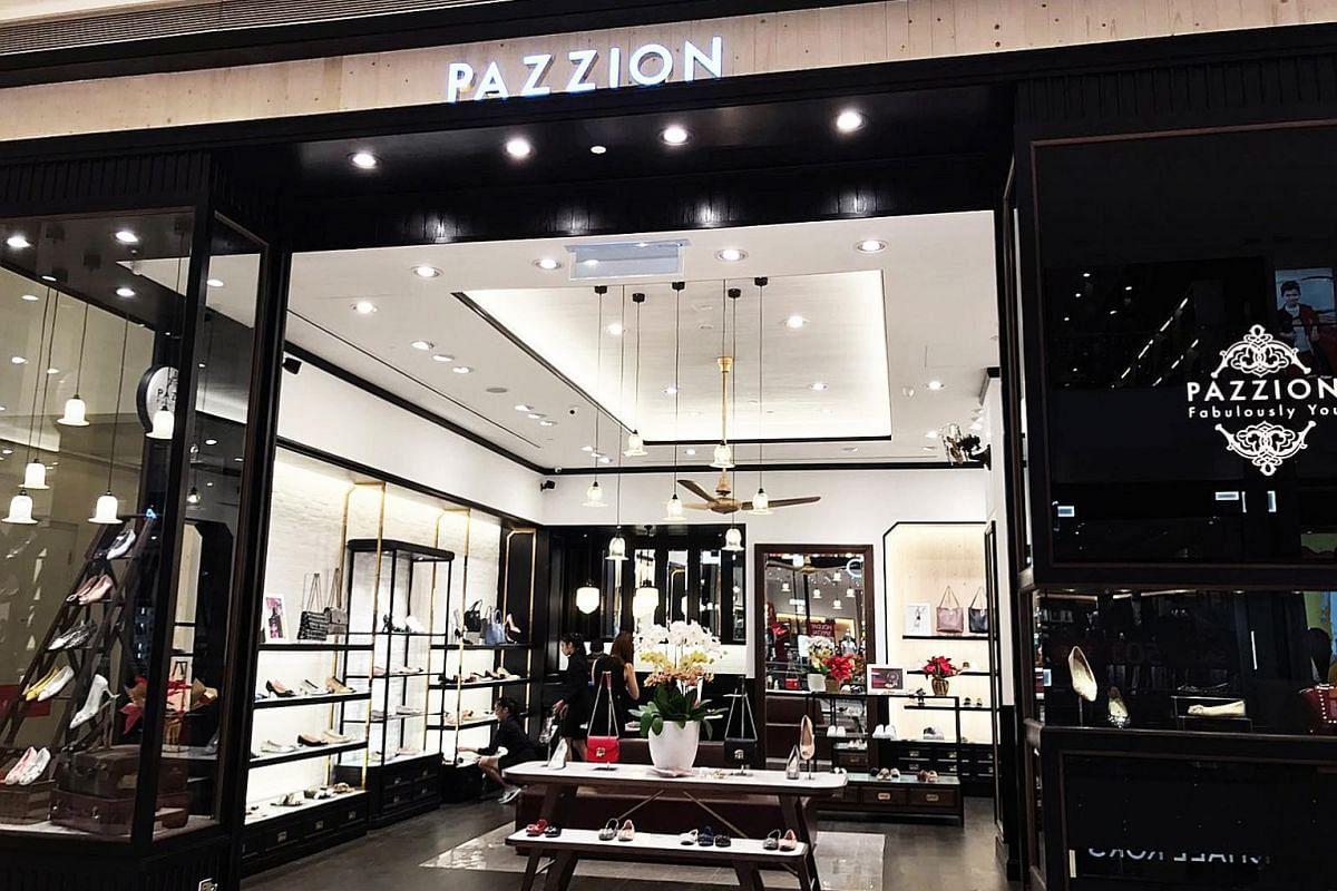 Singapore shoe label Pazzion ventured to Thailand in 2005 and is now available in 10 countries worldwide, including in Pavilion Shopping Mall (right) in Kuala Lumpur, Malaysia. In Good Company, which designs fashion for women, men and children, is av
