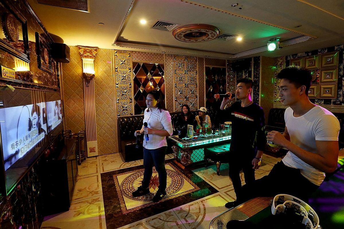 Manekineko, one of Japan's most popular karaoke chains, has taken Singapore by storm since it opened here in 2015. At Tang Music Box, customers get to enjoy singing and can buy imported snacks and drinks from the KTV's mini-mart. Teo Heng KTV Studio,