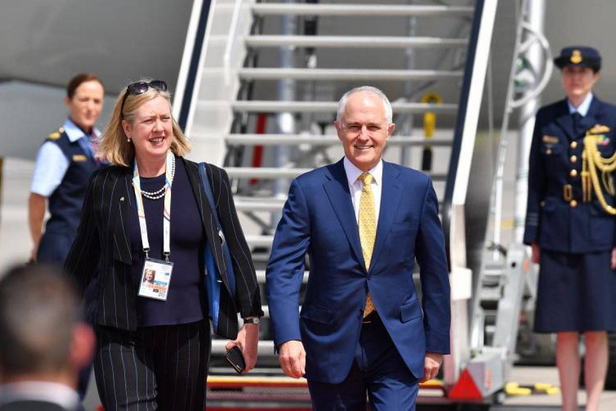 Australia's Prime Minister Malcolm Turnbull looks all set and ready to tackle the challenging discussions at the G-20 summit.