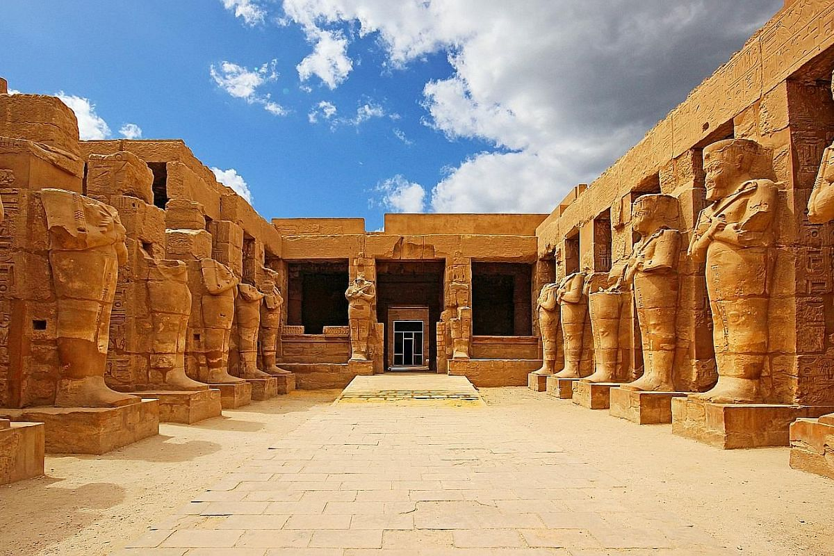 Karnak is one of Egypt's largest surviving temple precincts.