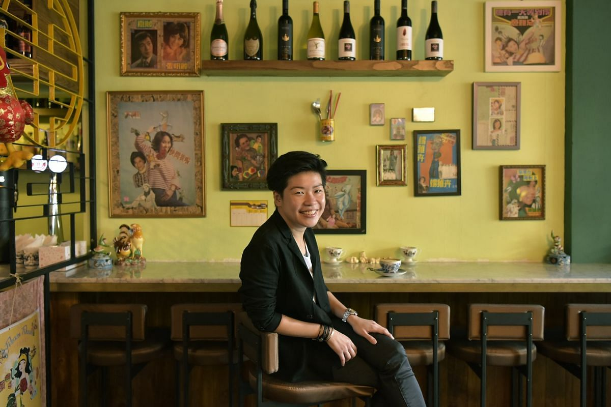 Ms Abbyshayne Lim worked as a barista while pursuing a diploma in French culinary arts in her 20s.