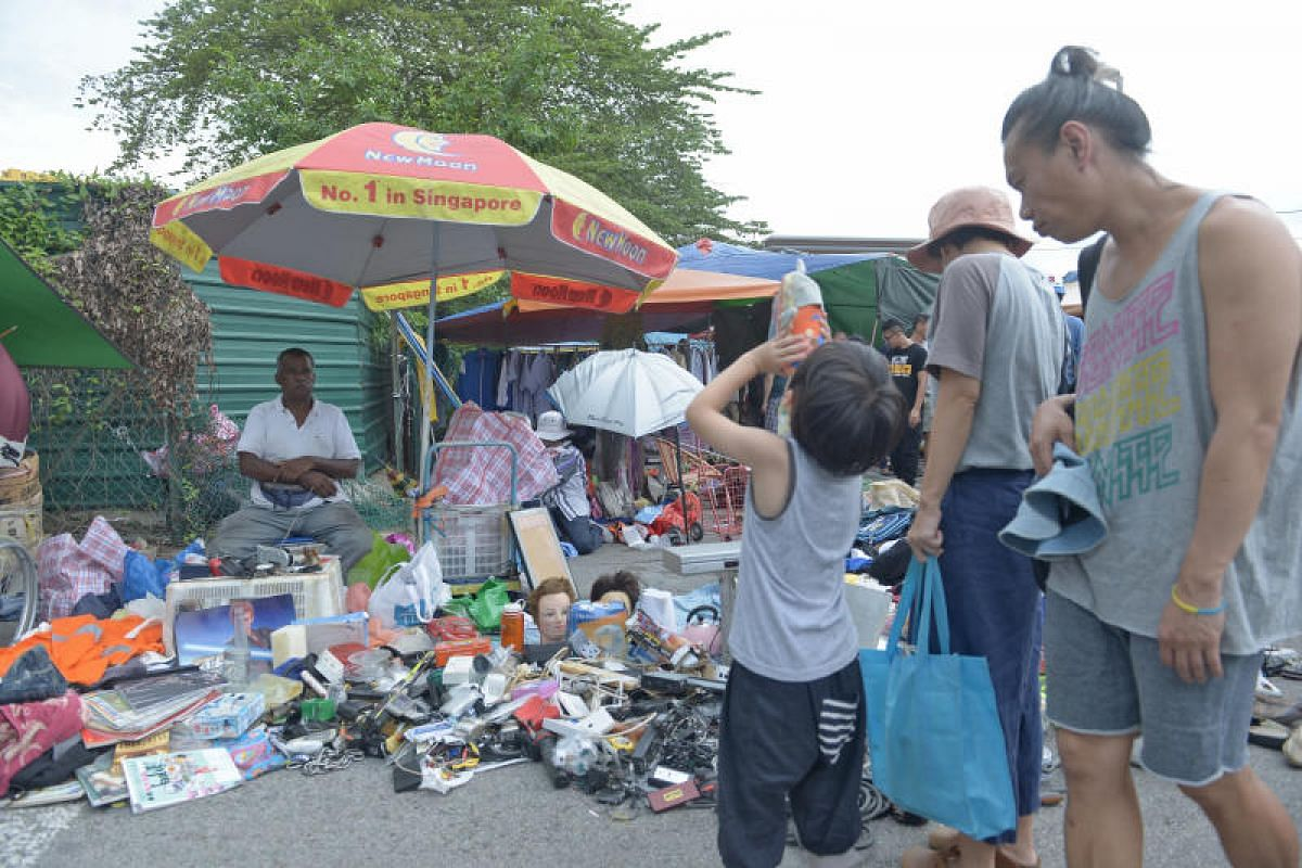 Sunday (July 9) was the last day of operations for vendors at the Sungei Road flea market - and visitors young and old were out in force to bid a final goodbye to an icon of Singapore.