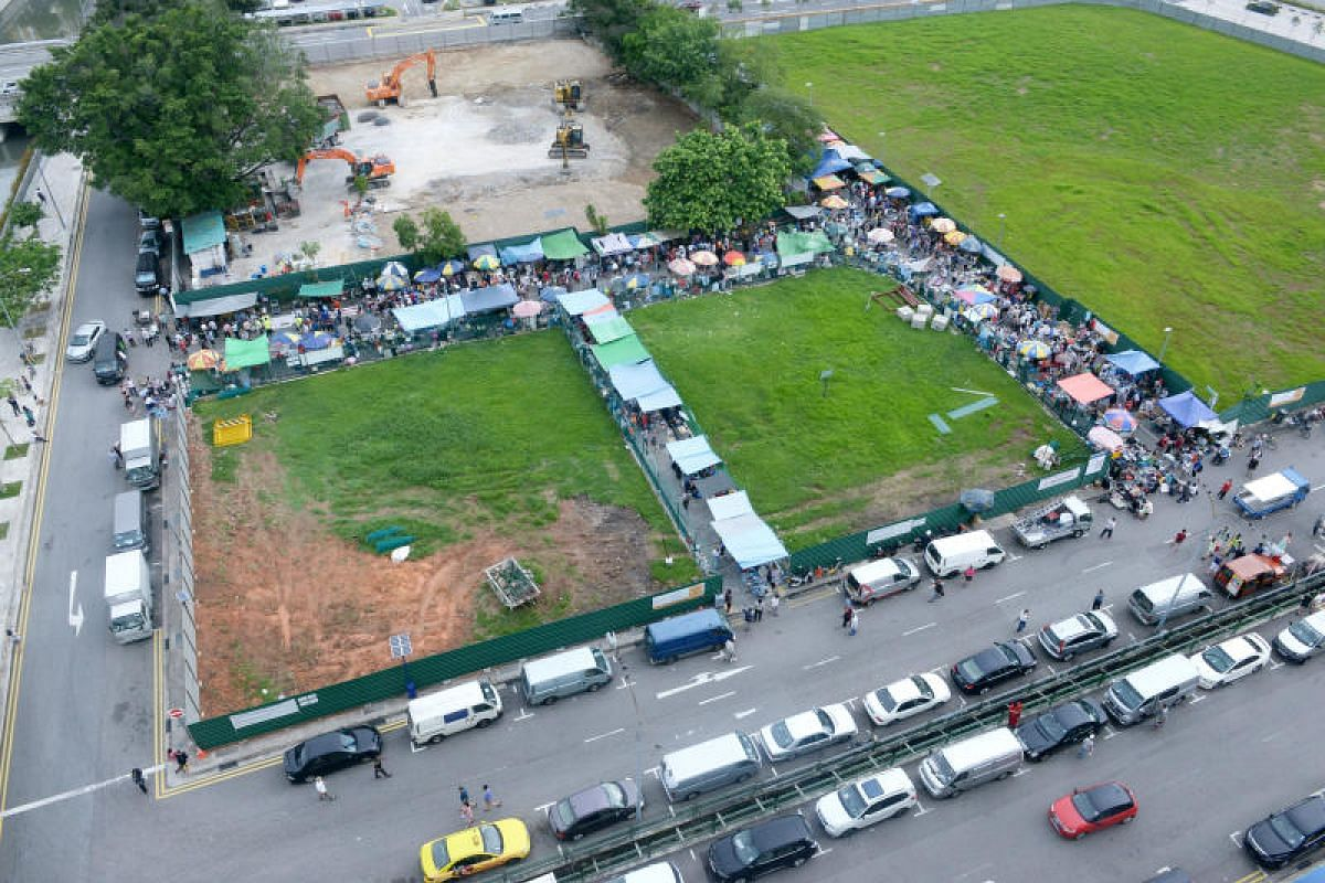 The Sungei Road flea market, which began in the 1930s, is making way for future residential and commercial developments.