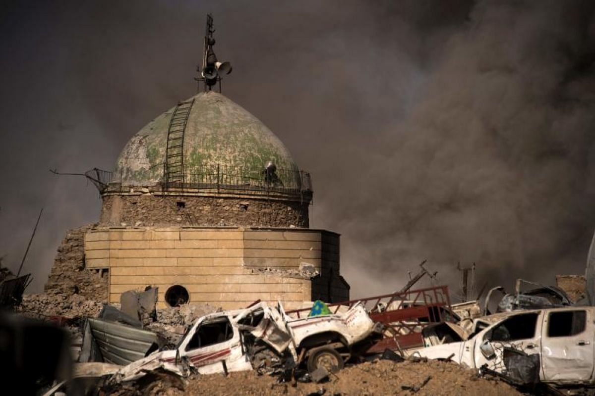 """Iraqi Prime Minister Haider al-Abadi on Monday (July 10) said victory by government forces in Mosul marked """"the failure and the collapse of the terrorist state"""". The defeat leaves ISIS without any major urban strongholds in Iraq, retreating to i"""