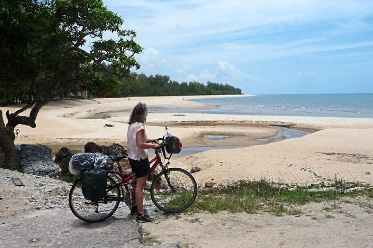Grandmother-of-four Christa Baer loves riding in Malaysia as she finds people friendly and hospitable.