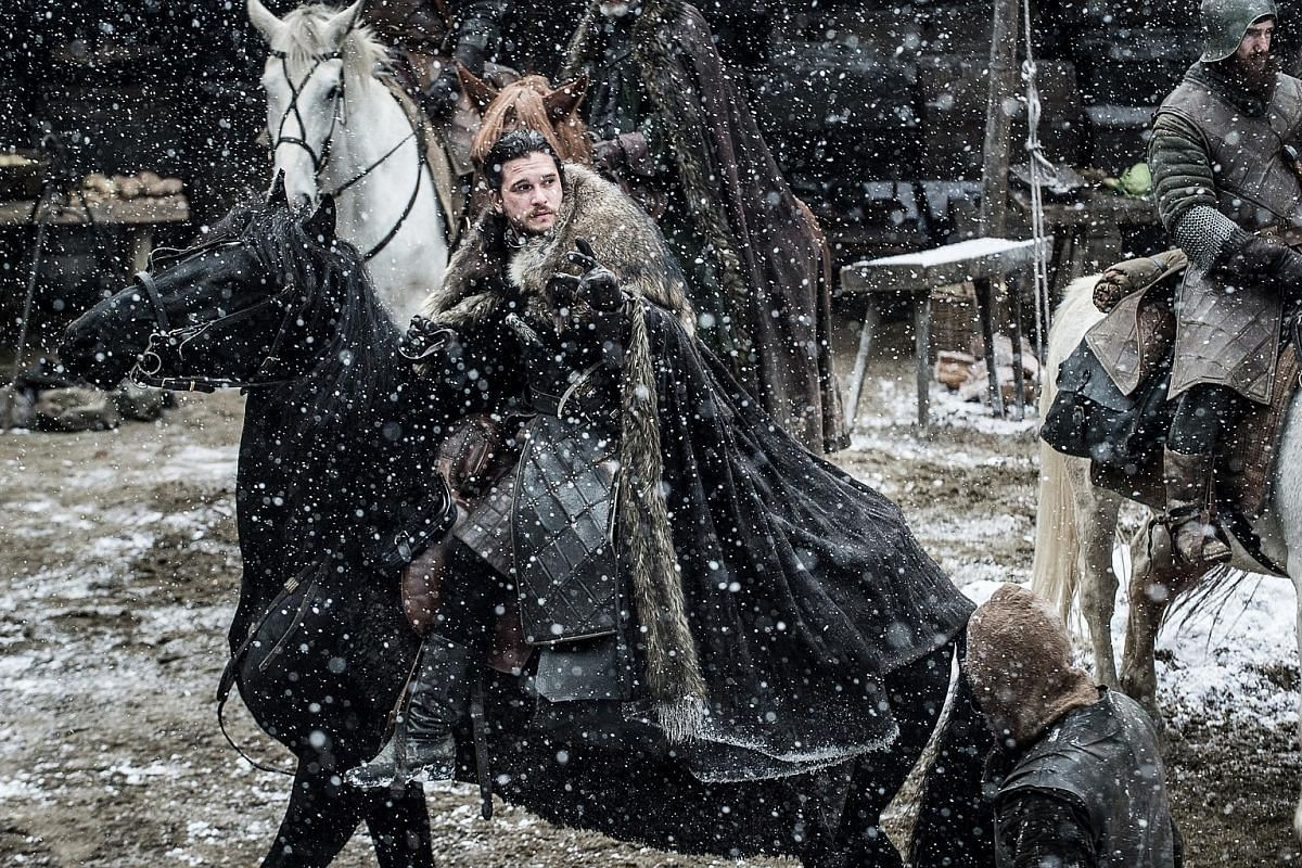 English actor Kit Harington's character, Jon Snow, was resurrected in Game Of Thrones Season 6 and has emerged as a key contender for the Iron Throne.