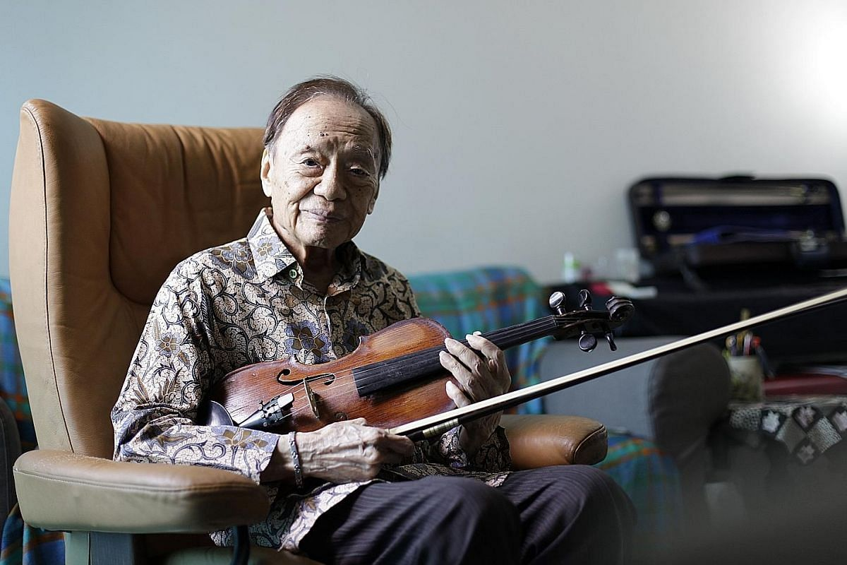 Supersect often play their live shows decked out in martial arts costumes from period dramas. After taking part in mentorship programmes, indie band Subsonic Eye have learnt to package themselves better. Jazz violinist Julai Tan is 92 and is still op