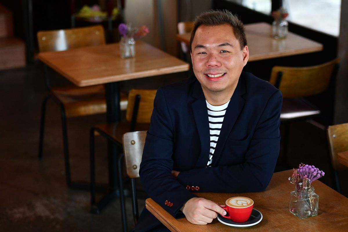 Apart from Hyde & Co cafe and a theatre and events outfit, Mr Derrick Chew also runs a business consultancy.