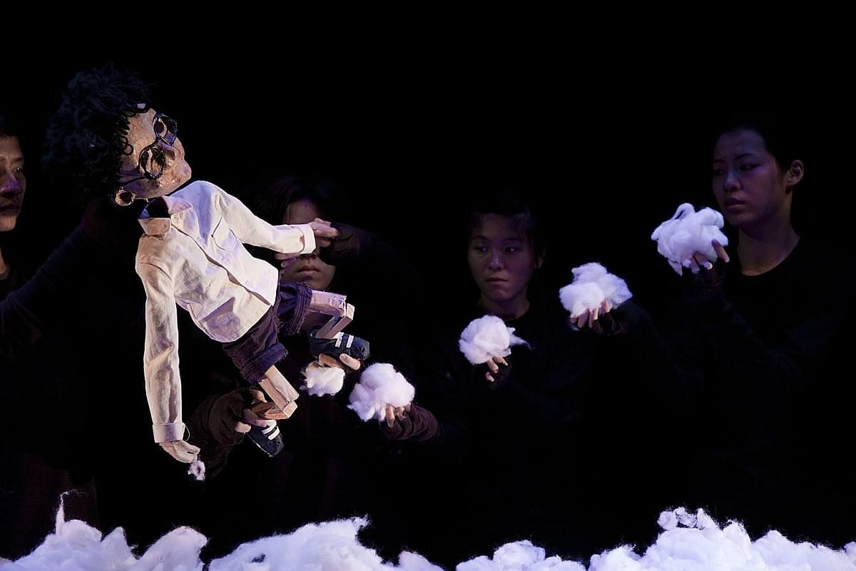 Puppet show The Little Child reimagines sombre themes of illness and death for a young audience.