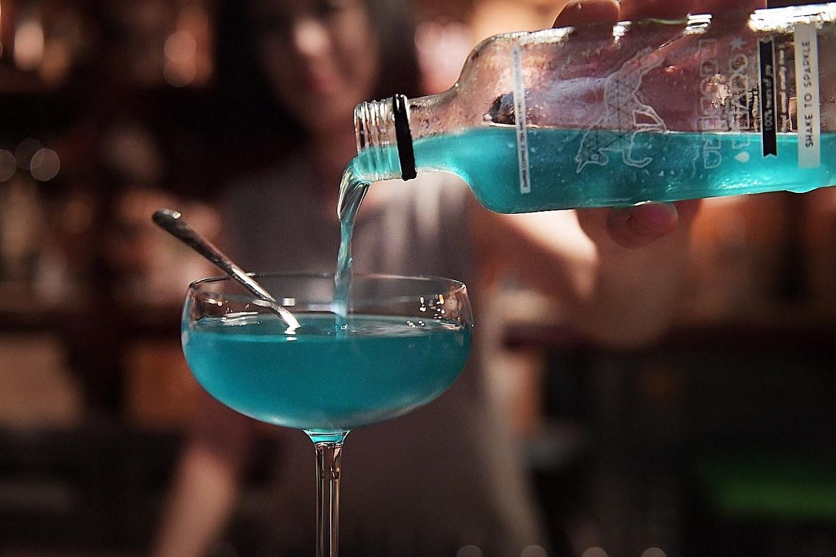 Sip on Unicorn Tears, an aquatic blue soft drink with edible sparkles. The Singapore Coffee Festival promises to give you a buzz.