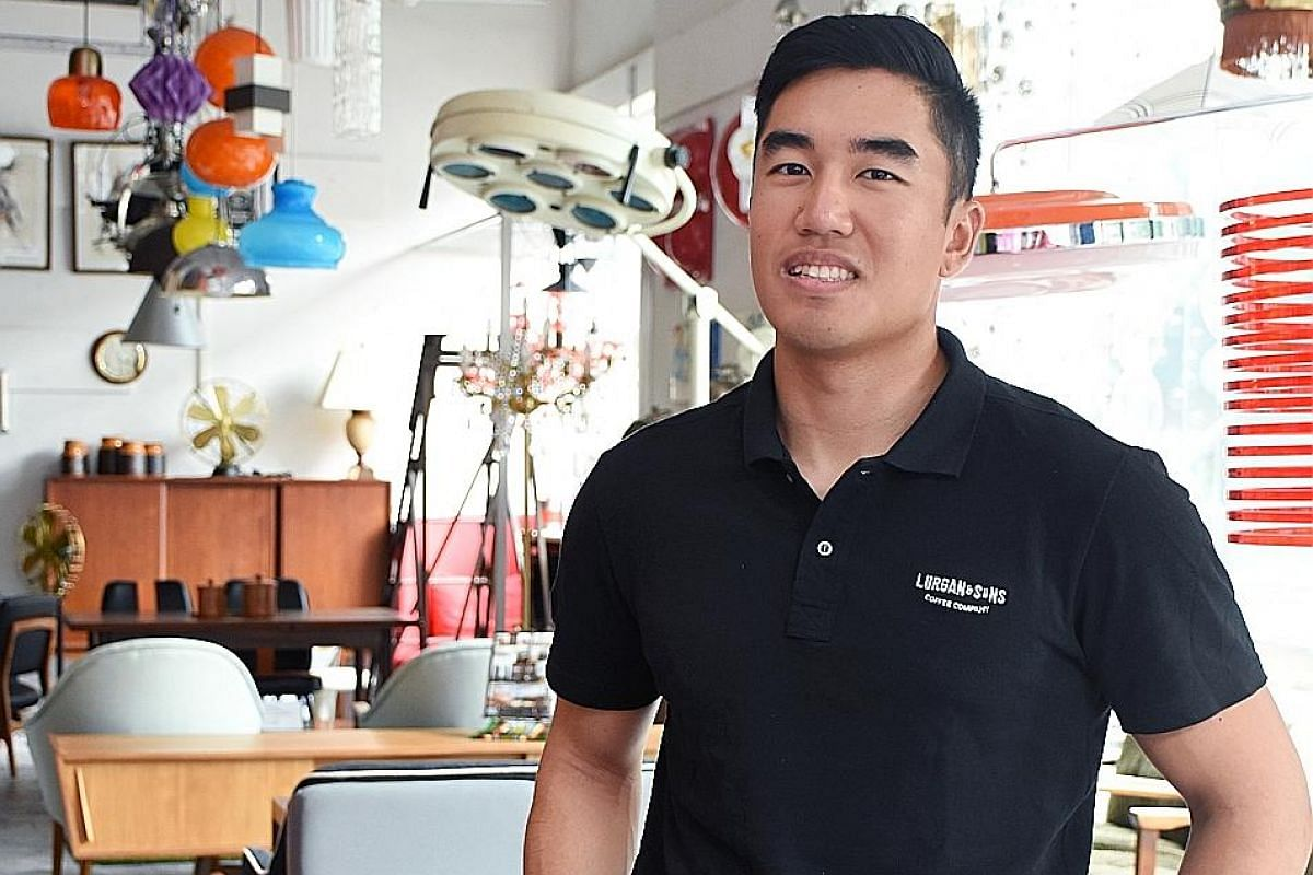 Mr Mark Wong, a Singapore national sailor, has travelled around the world for competitions.