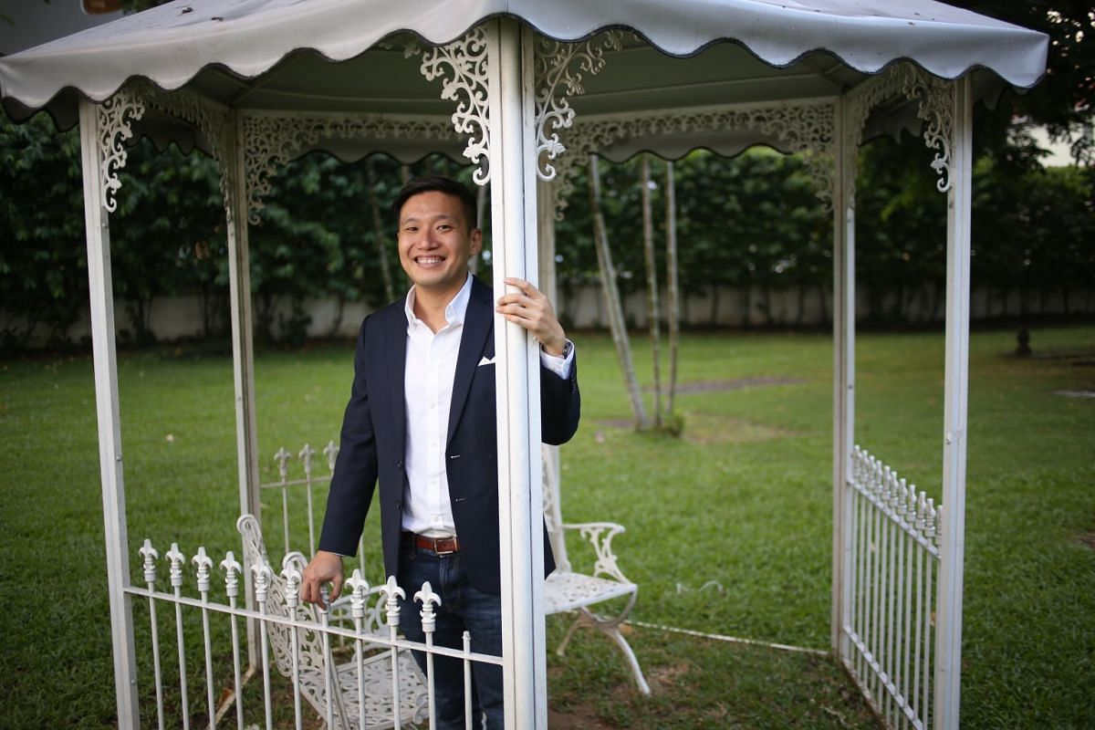 As director of the Asian Civilisations Museum, Mr Kennie Ting aims to include in its exhibitions a component of life in the city to make them relevant to visitors.