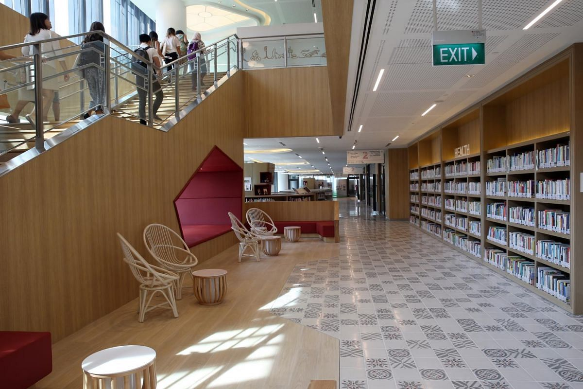 The official re-opening of the Tampines Regional Library at its new location in Our Tampines Hub.