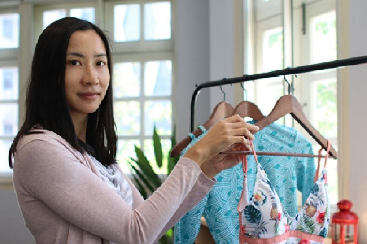 Ms Toni Chan, founder and designer of swimwear label August Society.