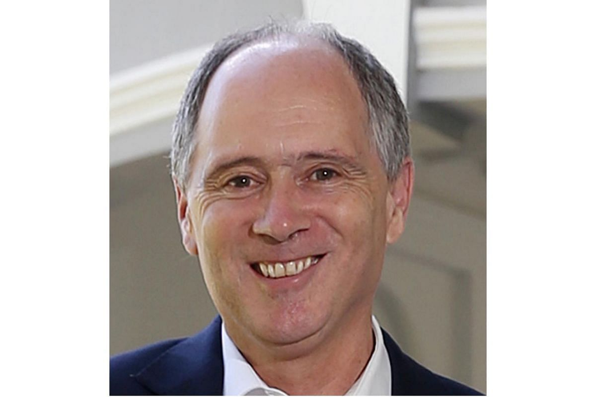 Mr Scott Wightman, 56, British High Commissioner to Singapore, he and his wife Anne have lived in Singapore for two years.