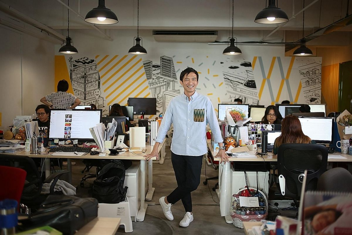 Mr James Chua, managing director of Germs Digital, spent much of his growing-up years feeling lonely and ostracised. But running a successful business has helped him get rid of a lot of his insecurities.