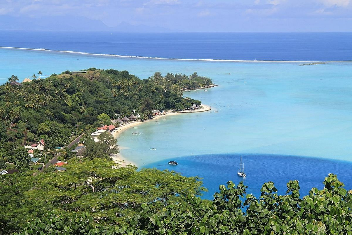 Many travellers to the South Seas count Moorea island, with its white beaches and stunning bays, as the most beautiful of all. Bora Bora is famous for its luxury water bungalows. Raiatea island is home to Taputapuatea (above), an important marae or s
