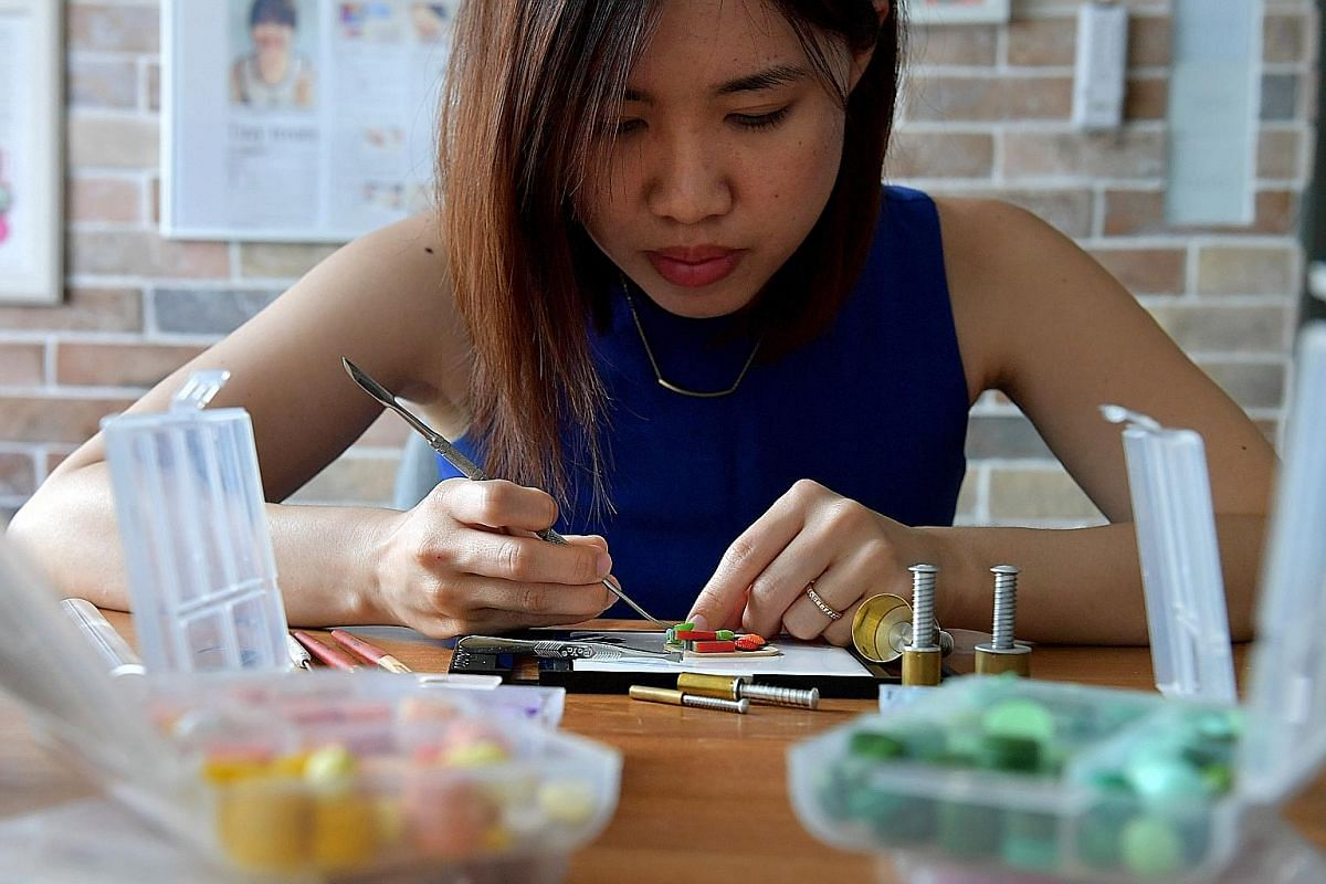 Mr Calvin Tan, 41, is not only a World War II buff but also a world-renowned miniature figure sculptor and painter. The winner of many overseas awards is also an author and recently produced a videoon the art of miniature figure painting. It can take