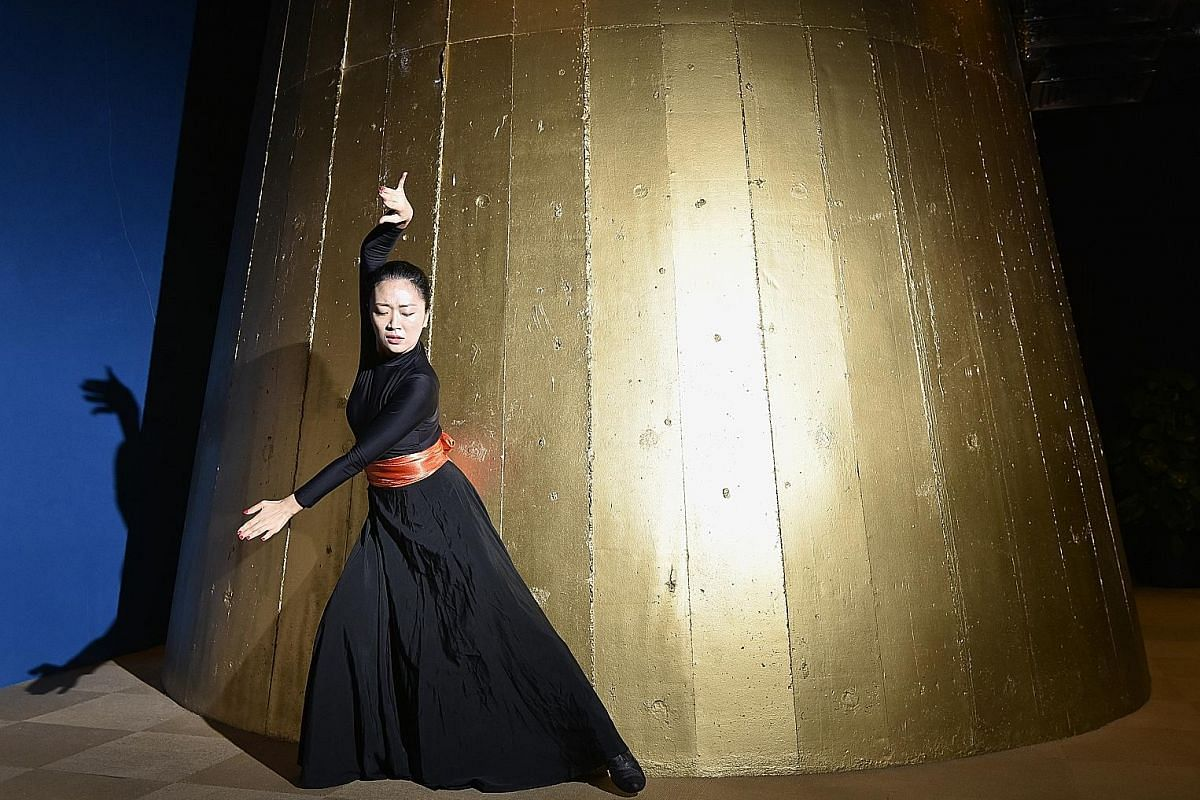 Singapore-based Mongolian Hao Na (above) is one of four dancers in Soulful Steps for Moonfest.