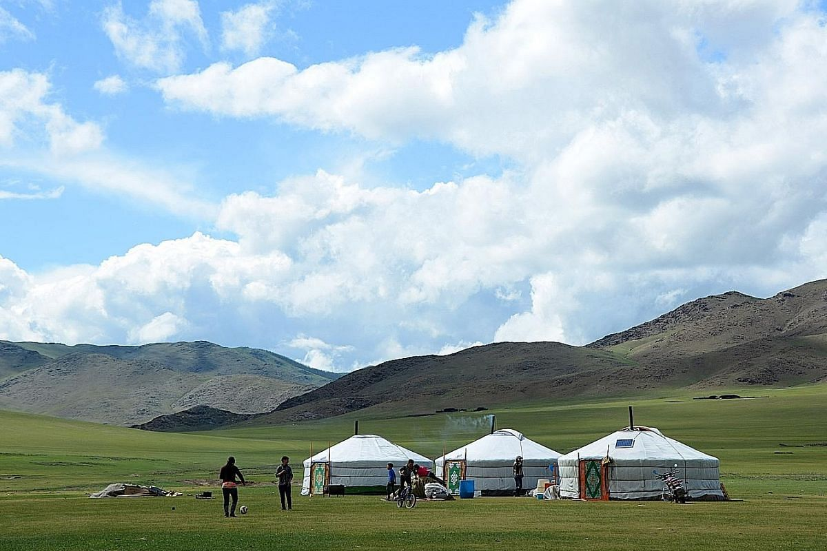 More Mongolian nomads are leaving the grasslands as life becomes increasingly difficult.