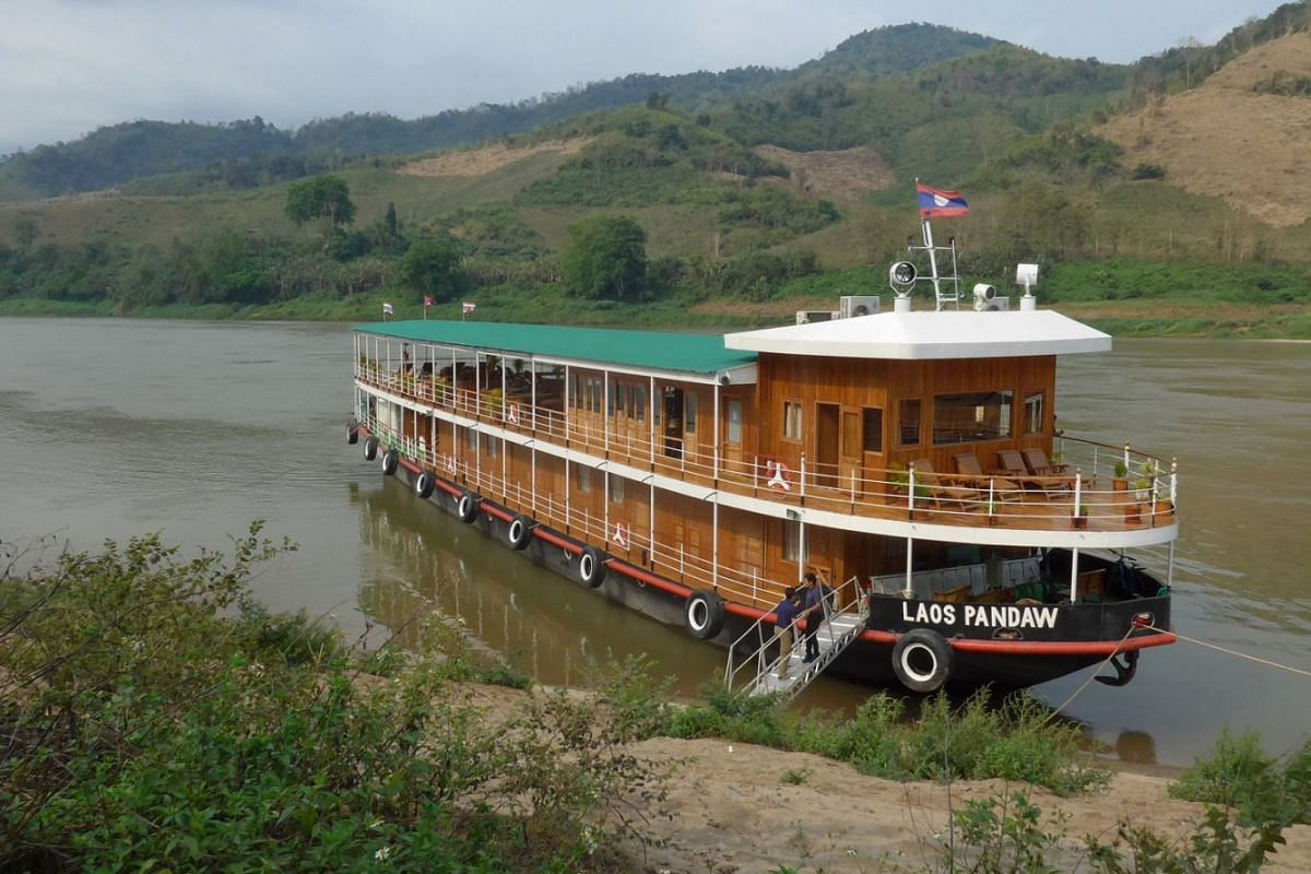 The Laos Pandaw cruises the Mekong River every year from September to April.
